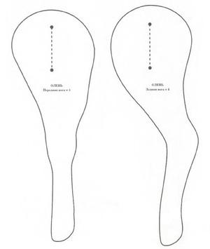 Ноги передние и задние