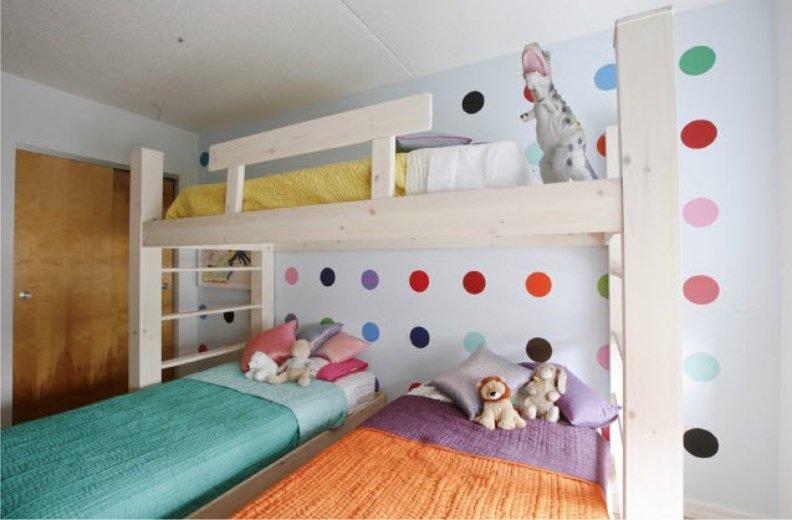 Комната для 3 мальчиков фото