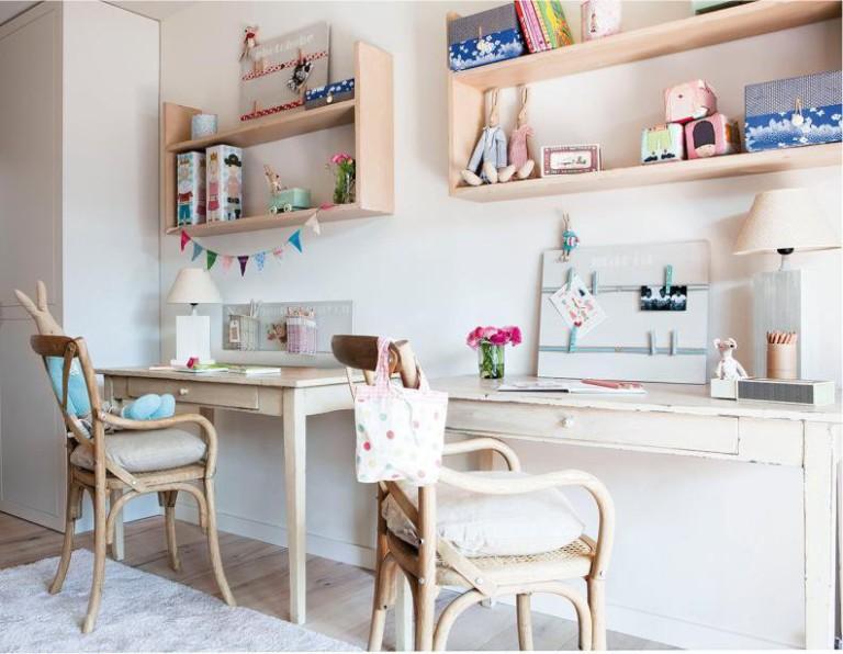 Детская мебель в стиле эко